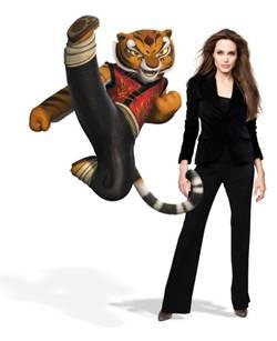 KUNG FU PANDA 2 - Angelina Jolie as Tigress