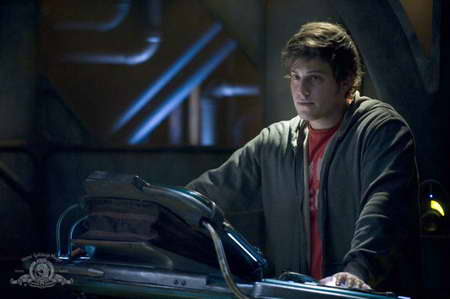 'Stargate Universe' David Blue as Eli or math boy