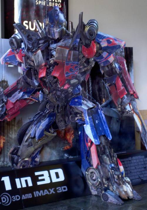 Transformers 3 - Optimus Prime is coming