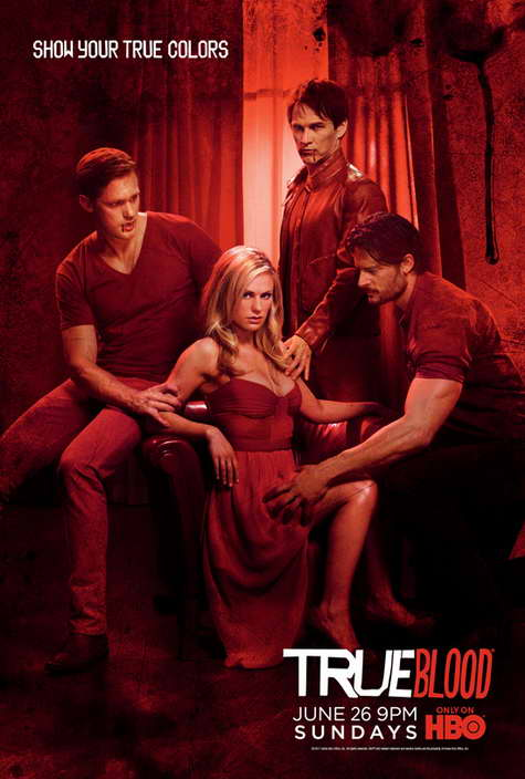 """True Blood"" HBO Promo Art RED"