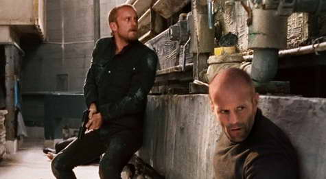 Ben Foster and Jason Statham in