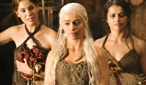Emilia Clarke in 'Game of Thrones' on HBO