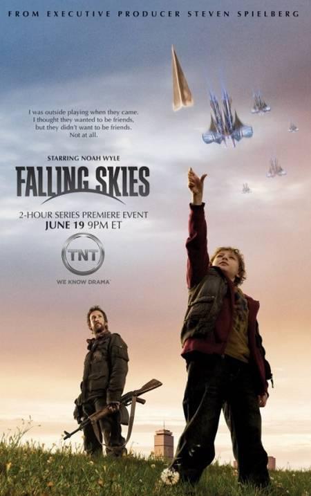 'Falling Skies' promo art