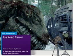 'Ice Road Terror' Syfy channel Saturday Night Movie