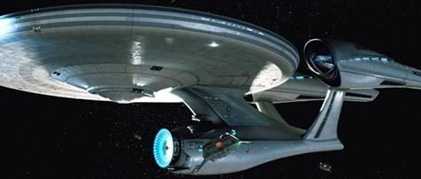 J.J. Abrams Enterprise in 'Star Trek'