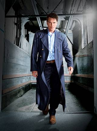 John Barrowman as Jack Harkness in new coat