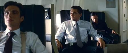 Leonardo DiCaprio, Tom Hardy and Cillian Murphy in 'Inception'