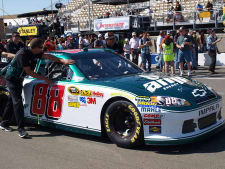 Dale Earnhardt Jr. No. 88 at Infineon Raceway on 6-26-11
