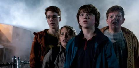 Ryan Lee, Joel Courtney, Gabriel Basso and Riley Griffiths in 'Super 8'