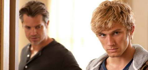 Timothy Olyphant and Alex Pettyfer in