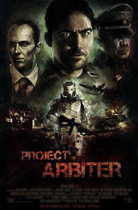 PROJECT ARBITER indie film movie poster