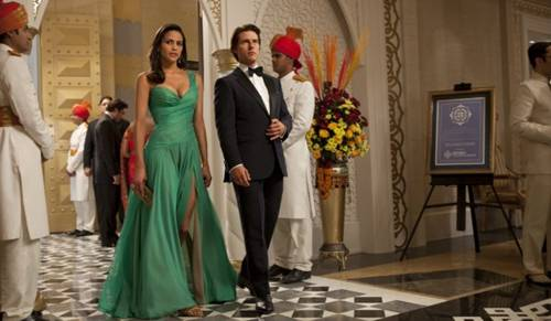 Tom Cruise and Paula Patton in 'Mission Impossible - Ghost Protocol'