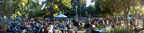 Menlo Park Concert in the Park final 2011 Concert