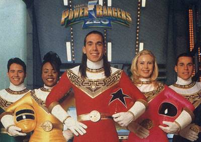 Power Rangers Zeo, Steve Cardenas as the Red Power Ranger