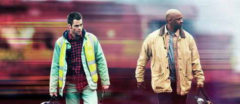 Still of Denzel Washington and Chris Pine in 'Unstoppable'