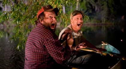 Tyler Labine and Alan Tudyk in 'Tucker & Dale vs Evil'