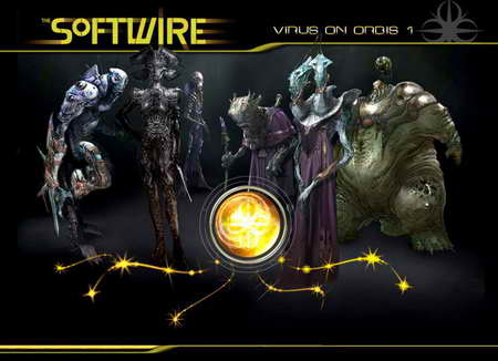 'The Softwire: Virus on Orbis' - the Aliens