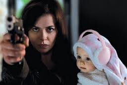 Gwen and Baby in 'Torchwood: Miracle Day'