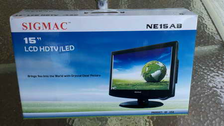 SIGMAC LED TV consumer product review