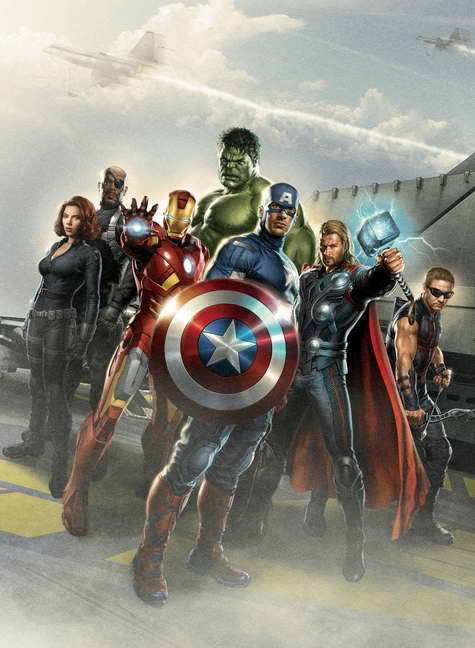 'The Avengers' movie promo poster