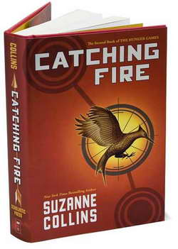 CATCHING FIRE, Book no 2 of The Hunger Games Trilogy