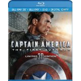 Captain America The First Avenger on Blu-ray and DVD