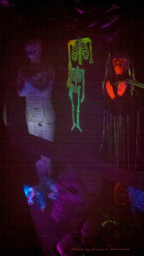 Halloween Ghouls and Ghosts