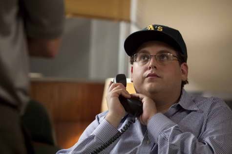 Jonah Hill in MONEYBALL
