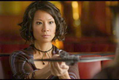 Lucy Liu in 'Rise: Blood Hunter'