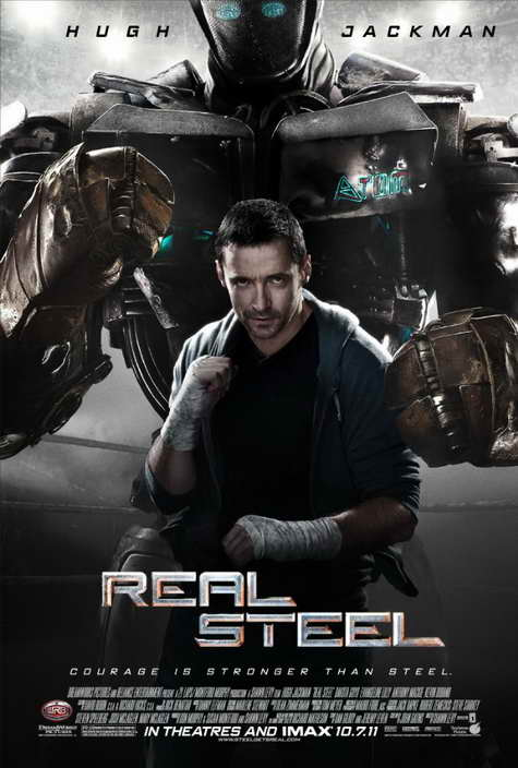 'Real Steel' movie poster