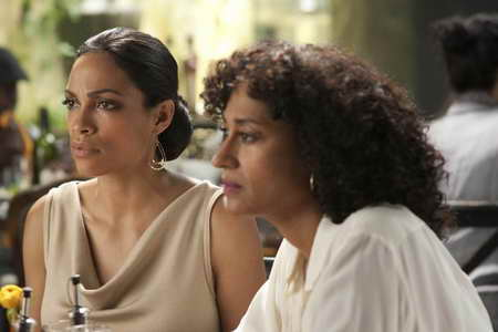 Rosario Dawson and Tracee Ellis Ross in FIVE
