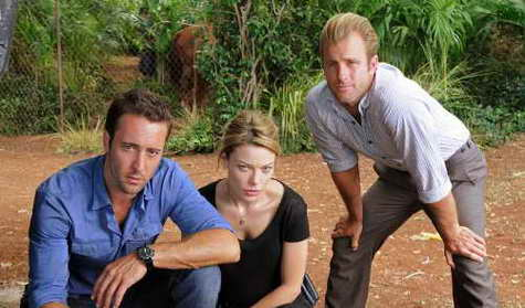 Scott Caan, Lauren German and Alex O'Loughlin in 'Hawaii Five-0'