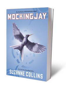 THE HUNGER GAMES third book - mockingjay - by suzanne collins