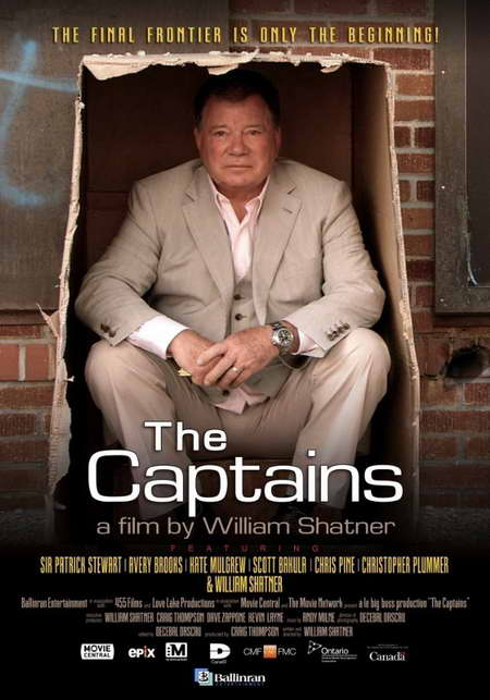THE CAPTAINS from William Shatner