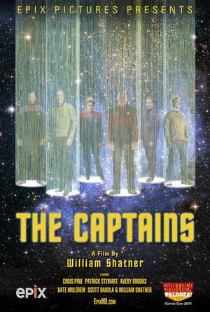 'The Captains' from William Shatner