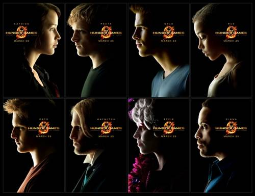 """The Hunger Games"" Character Montage"