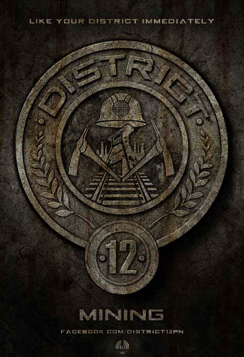 'The Hunger Games' district 12 seal
