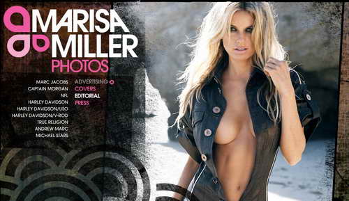 Marisa Miller website