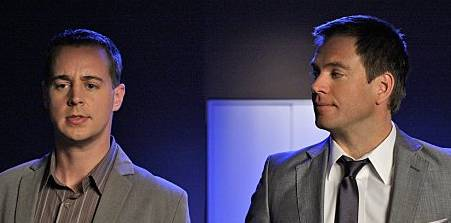 Sean Murray and Michael Weatherly in NCIS fr 2010