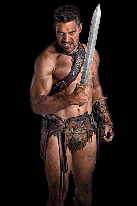 Spartacus Vengeance - Manu Bennett