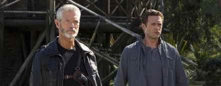 Stephen Lang and Jason O'Mara in Terra Nova