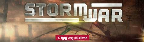 Storm War on Syfy Channel promo art