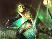The Lizard concept art from The Amazing Spider-Man