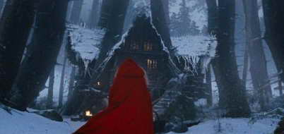 Amanda Seyfried in Red Riding Hood, going to grandmother's house!