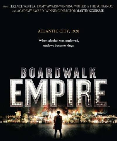 Boardwalk Empire on HBO promo art