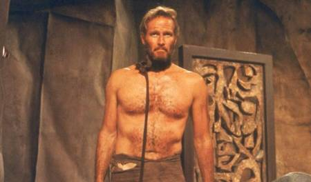 Charlton Heston in Planet of the Apes