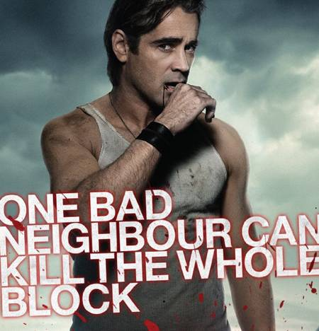 Colin Farrell, Fright Night movie review