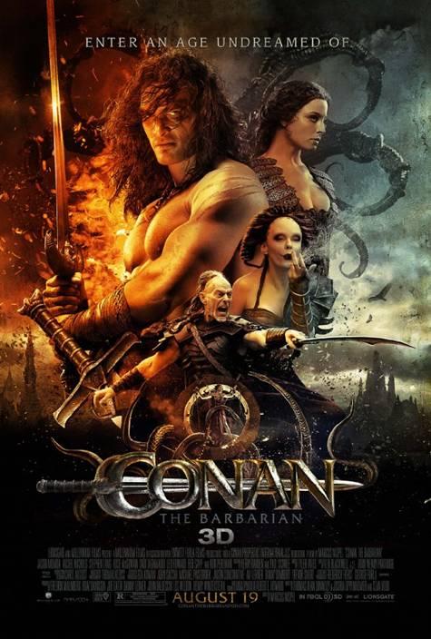 Conan the Barbarian one sheet