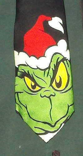 Grinch says Merry Christmas & Happy Holidays