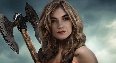 Imogen Poots in Fright Night promo